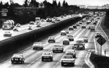 Traffic on Highway 101 at University Avenue, 1982