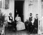 Myrick Family and Friend, 1893