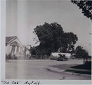 Grant Avenue and Third Street in Mayfield, ca. 1930's.