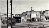 F.L Worrill Feed and Fuel building, corner of Alma Street and Hamilton Avenue, 1924
