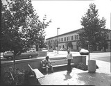 University Avenue at Emerson Street, circa 1974