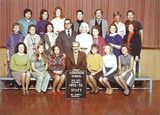 Addison School staff, 1972-73