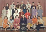 Addison School staff, 1970-71