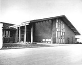 City Hall exterior view, 1952