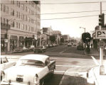 University Avenue and Cowper Street, 1969
