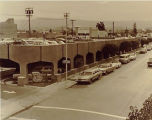 Parking garage on Cambridge Avenue, 1968
