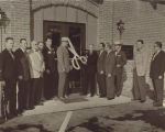 Ribbon cutting at Wells Fargo Bank, 600 Quarry Road