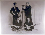 Surveying squad, Stanford University, 1893