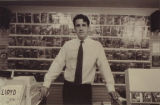 Lee Hester, owner of Lee's Comics, 1990