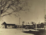 Southern Pacific passenger station at Palo Alto, 1895