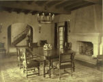 Norris residence, the dining room, 1247 Cowper Street