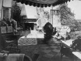 Herbert Hoover House Outdoor Room, ca 1930
