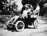 Women in Open Car, Early 20th Century