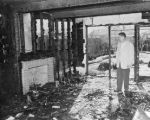 Eichler Home Destroyed by Fire, 1960's