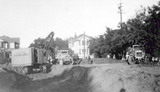 Excavation work on new post office on Hamilton Avenue, 1932